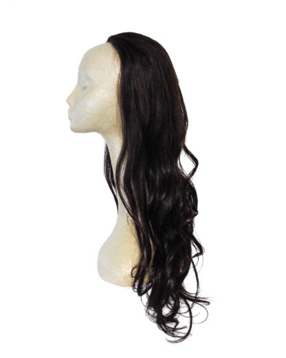 "22"" Human Hair Fall in Black"