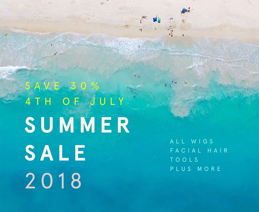 john blake's 2018 summer sale - save 30% storewide johnblakeswigs.com