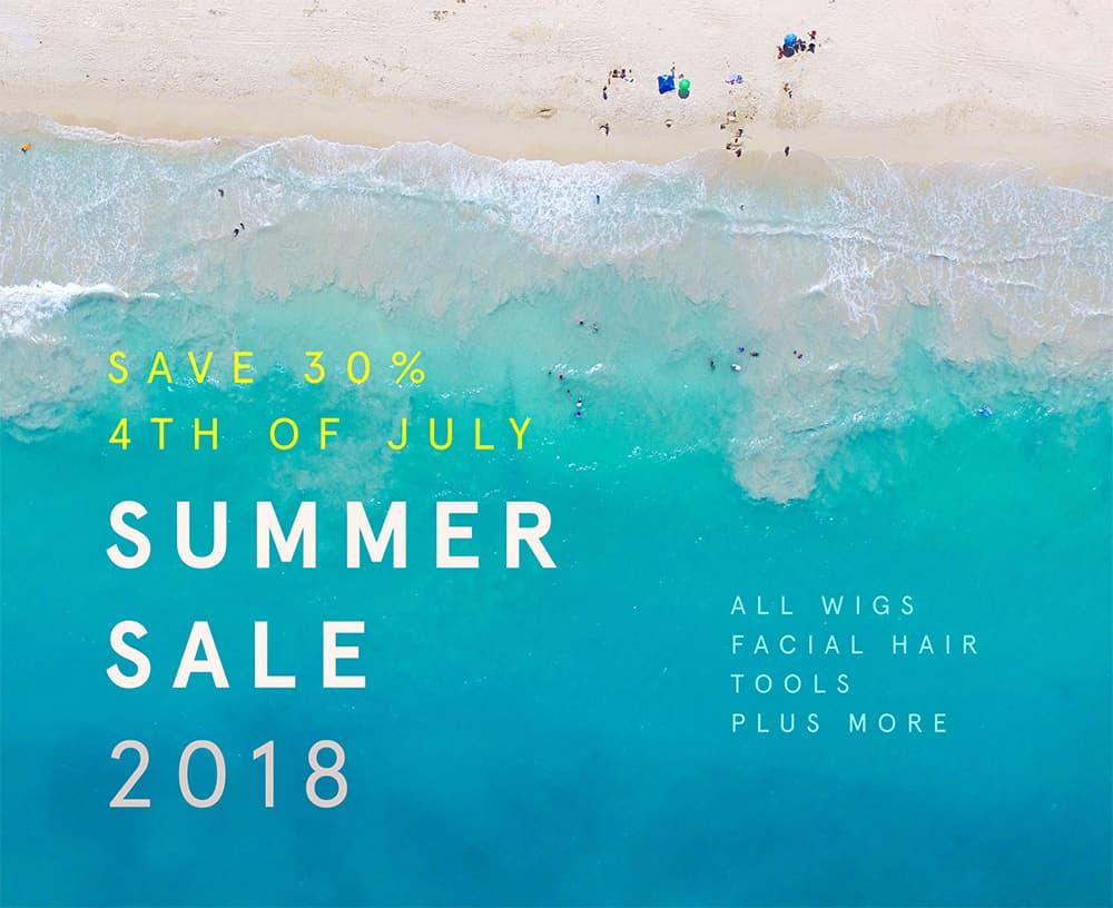 john blake's 2018 summer sale - save 30% storewide johnblakeswigs.com